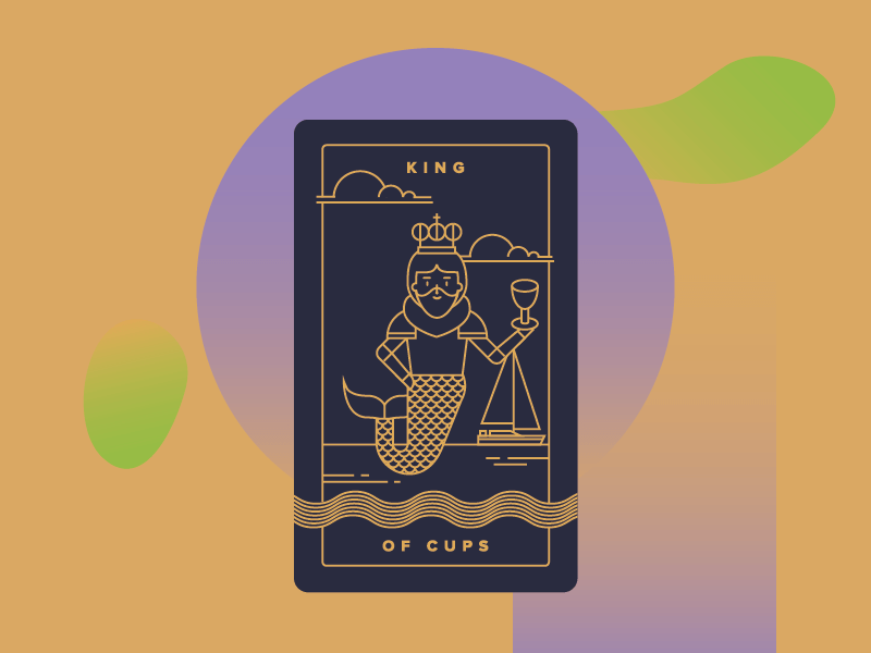What Does the King of Cups Mean in a Love Reading