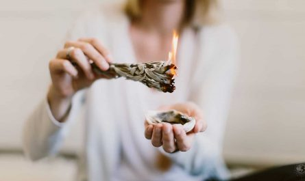 Burning Sage - Herbs for Protection Against Negative Energy